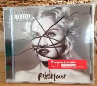 Madonna Rebel Heart France SNAC Deluxe Version with Living For Love Remixes CD in card sleeve