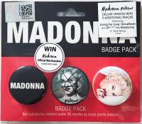 Madonna Malaysia Rebel Heart Badge Pack