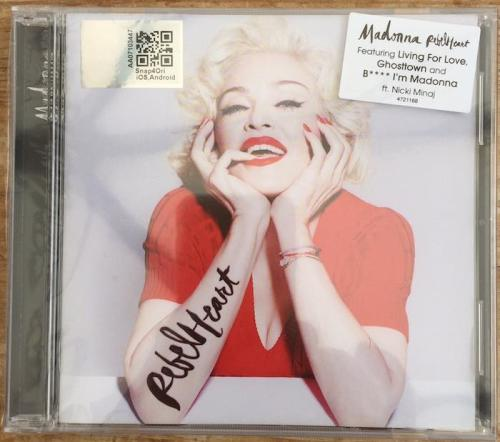 Picture of: Rebel Heart Malaysian Standard CD Album without Parental Advisory Logo Shrink-wrapped & utterly MINT at buySellMadonna.co.uk
