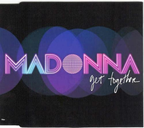 Picture of: GET TOGETHER UK PROMO CD IN JEWEL CASING WITH CUSTOM P/S INLAY at buySellMadonna.co.uk