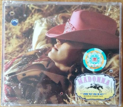 Picture of: MUSIC SINGAPORE ENHANCED CD-MAXI SINGLE FACTORY SEALED & RARE! at buySellMadonna.co.uk